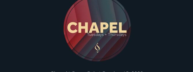 Chapel with Casey Cole