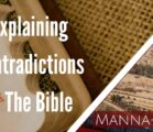 Explaining Contradictions In The Bible | Episode 857