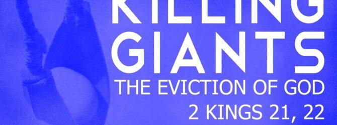 Killing Giants – The Eviction of God