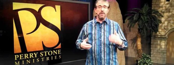 Perry Stone Mentoring and New Book