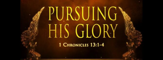 """""""Pursuing His Glory""""  Lead Pastor Mitch Maloney"""