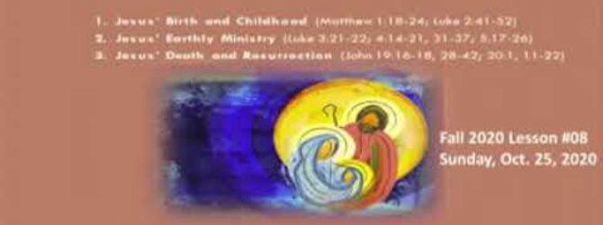 Sunday School October 25th Part II