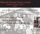 2020 Azusa Lecture