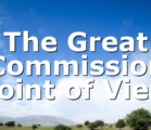 The Great Commission Point of View