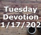 Tuesday Devotion 11/17/2020