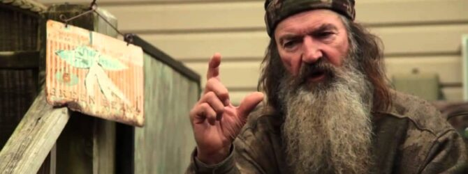 Duck Commander Phil Robertson – How It All Started