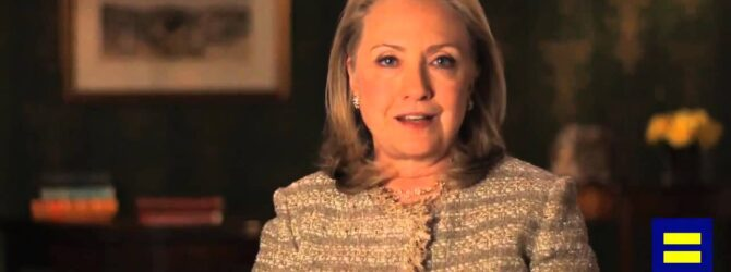 Hillary Clinton for HRC's Americans for Marriage Equality
