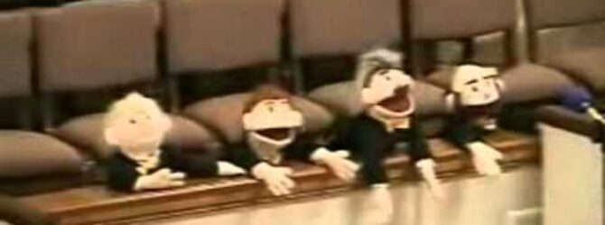 Puppets Sing Just a Little Talk With Jesusi