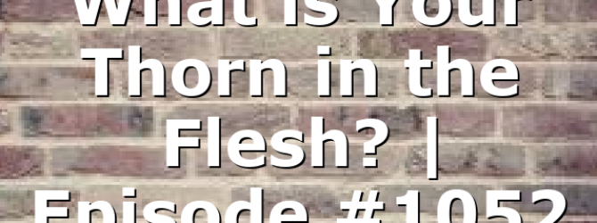 What is Your Thorn in the Flesh? | Episode #1052
