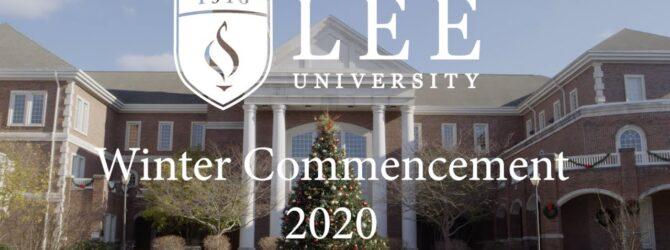 Winter Commencement 2020 – Part 1