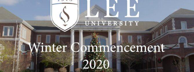 Winter Commencement 2020 – Part 2