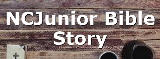 NCJunior Bible Story