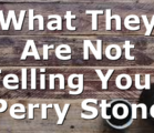 What They Are Not Telling You   Perry Stone