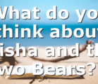 What do you think about Elisha and the Two Bears?…
