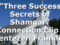 """Three Success Secrets of Shamgar"" Connection Clip | Jentezen Franklin"