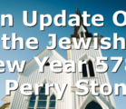 An Update On the Jewish New Year 5781 | Perry Stone