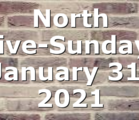 North Live-Sunday, January 31, 2021