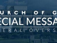 Dr. Timothy M. Hill, General Overseer, Encourages Voting