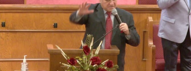 """""""God is in Control"""" Rev. Carl Overton Sunday Evening Service – 02/14/2021"""