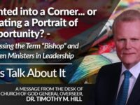 Painted into a Corner… or Creating a Portrait of Opportunity?