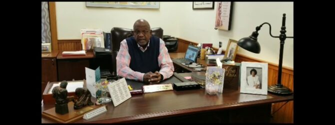 Bishop Kenneth L. Hill Congratulates Dixon Pentecostal Research Center