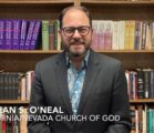 Bishop Sean O'Neal Congratulates Dixon Pentecostal Research Center