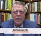 Dr. Dan Tomberlin Congratulates Dixon Pentecostal Research Center