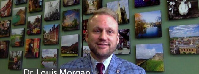 Dr. Louis F. Morgan Congratulates Dixon Pentecostal Research Center