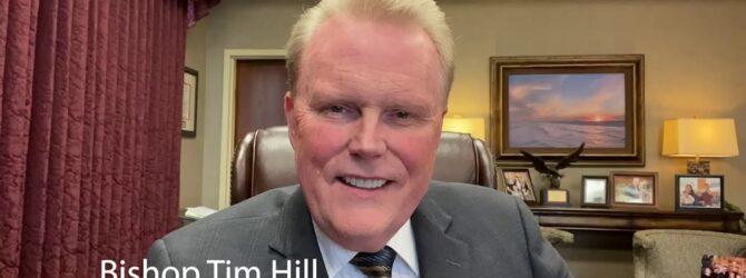 General Overseer Tim Hill Congratulates Dixon Pentecostal Research Center