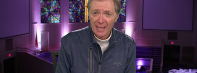 Pastor Mark Williams Congratulates Dixon Pentecostal Research Center