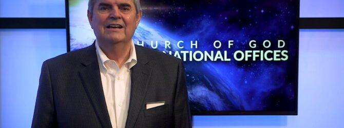 Secretary General John D. Childers Congratulates Dixon Pentecostal Research Center