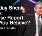 Sunday Sneak Peek: Whose Report Will You Believe? | Jentezen Franklin