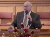 """""""Through the Valley of the Shadow of Death"""" Evangelist J. Darrell Turner Sunday Morning 02/28/2021"""