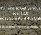 Sunday Evening April 4th, 2021