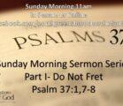 Sunday Morning May 30th