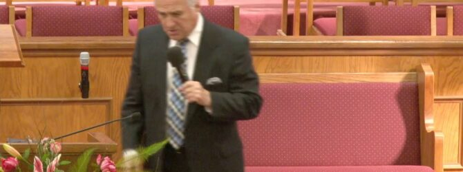 """""""The Characteristics of the Path of Life"""" Pastor D.R. Shortridge Sunday Evening Service 05/09/21"""