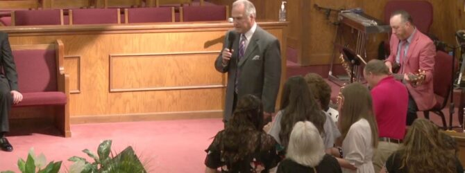 """The Dove Will Land Again"" Sunday Evening Service 05/02/21 Evangelist Jeremy Pooler"