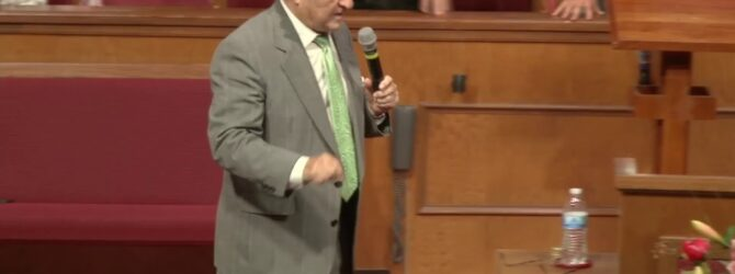 """""""Eating With Jesus"""" Pastor D. R. Shortridge"""