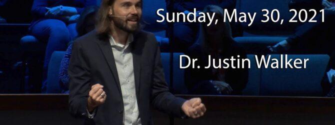 Guest Speaker – Dr. Justin Walker