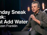 Just Add Water | Jentezen Franklin