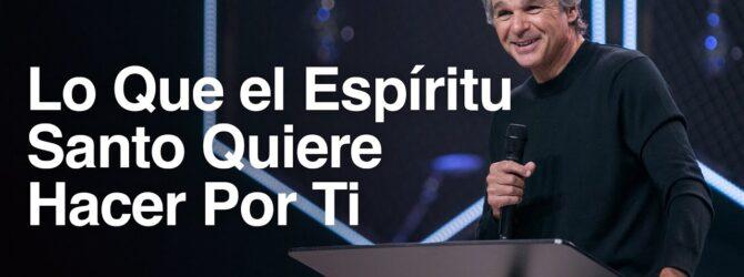 Lo Que el Espiritu Santo Quiere Hacer Por Ti | Jentezen Franklin