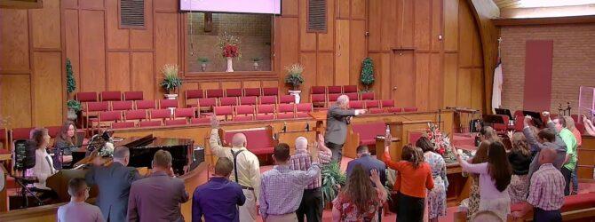 """Alone with God"" Pastor D.R. Shortridge Sunday Morning Service – July 11, 2021"