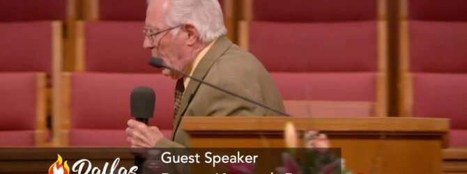 """""""God's Promises are Good"""" Pastor Kenneth Rouse Sunday Evening Service – July 11, 2021 Part 1"""