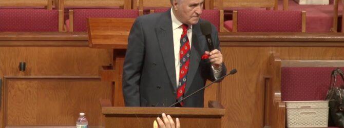 """Keep Your Fork"" Pastor D.R. Shortridge Sunday Evening Service – July 25, 2021"
