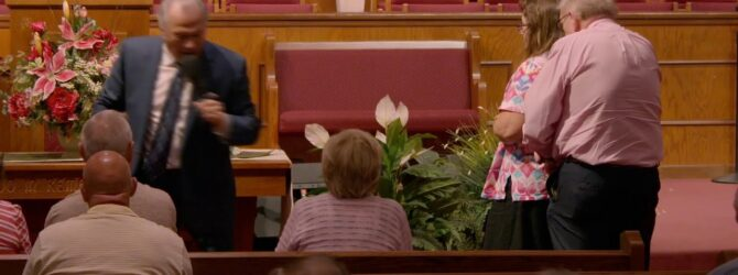 """Satisfied"" Pastor D. R. Shortridge WednesdayEvening Service – July 14, 2021"