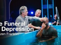 The Funeral for Depression   Baptism Service with Jentezen Franklin