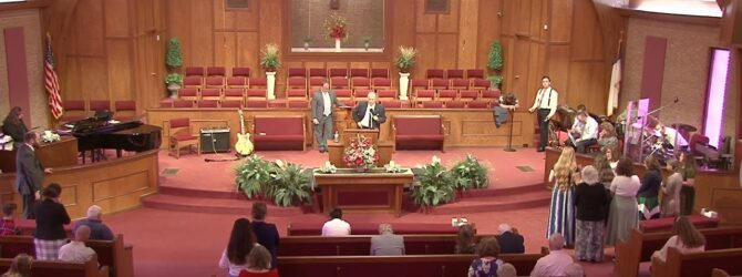 Holy Ghost Service Sunday Morning Service – August 15, 2021