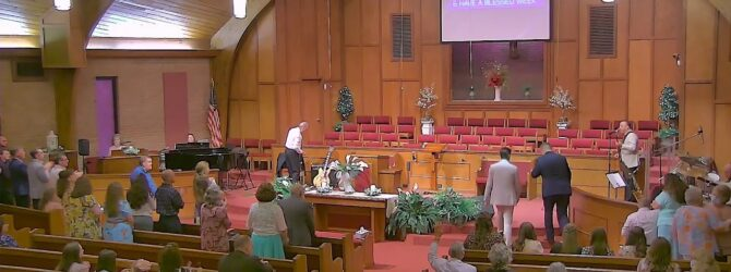 """Oil + Obedience = Overflow"" Evangelist Joe Ganze Sunday Evening Service- August 22, 2021"