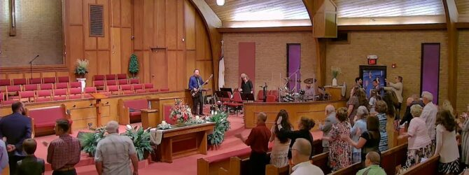 """""""The Effects of Grace"""" Pastor D.R. Shortridge Sunday Evening Service – August 8, 2021"""