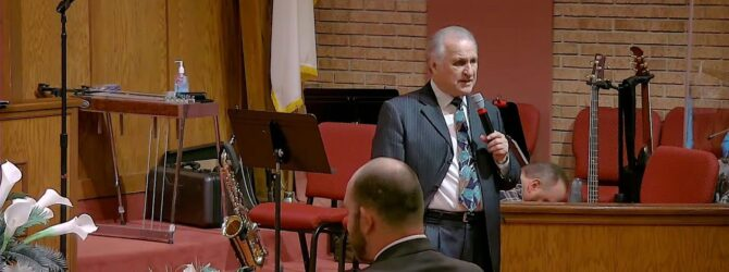 """""""The Lord, Our Maker"""" Paster D.R Shortridge Sunday Evening Service- August 29, 2021"""